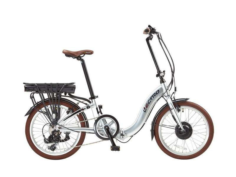 13″ EASY STEP, 7 SPEED, 36V E-BIKE, 20″ WHEEL, SILVER