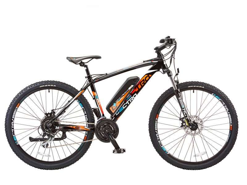 18″ PEAK, 24 SPEED, 36V E-BIKE, 27.5″ WHEEL, GENTS, BLACK