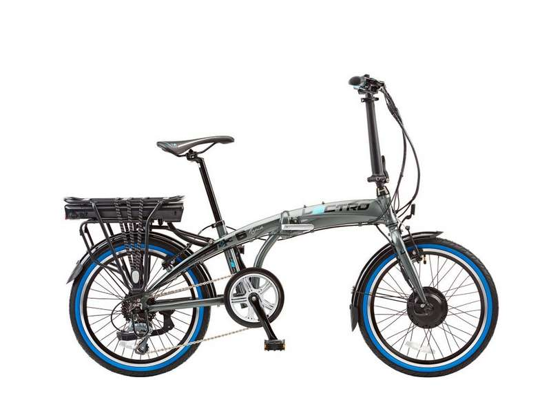 13″ RAPIDE, 8 SPEED, 36V E-BIKE, 20″ WHEEL, GREY