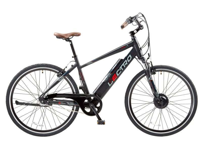 19″ URBAN CITY, 7 SPEED, 36V E-BIKE, 700C WHEEL, GENTS, BLACK
