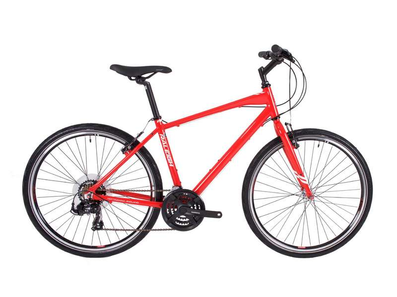 STRADA 1 CROSSBAR FRAME – RED