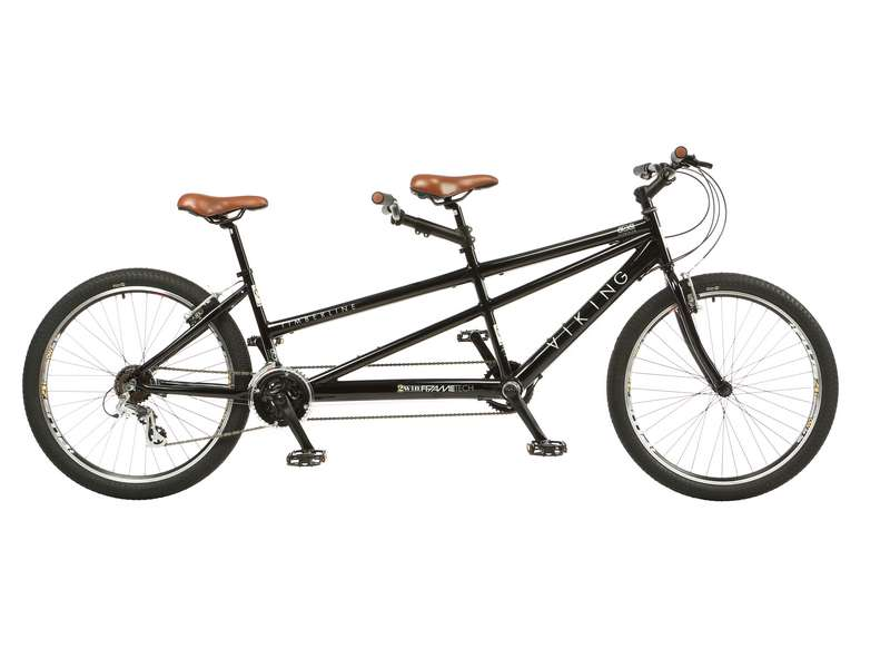19/16″ VIKING TIMBERLINE, 26″ WHEEL 21 SPEED TANDEM BIKE (VN268)