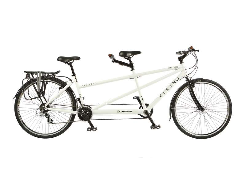 17/15″ VIKING ARUNDEL, 700C WHEEL 21 SPEED TANDEM BIKE (VN269)