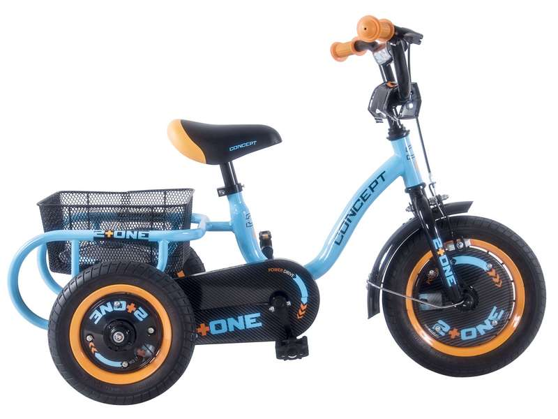 CONCEPT 2 + ONE SINGLE SPEED TRIKE, 12″ WHEEL (CN169)