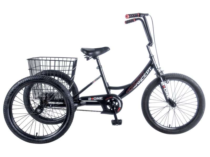 CONCEPT 2 + ONE BOYS SINGLE SPEED TRIKE, 20″ WHEEL (CN172)