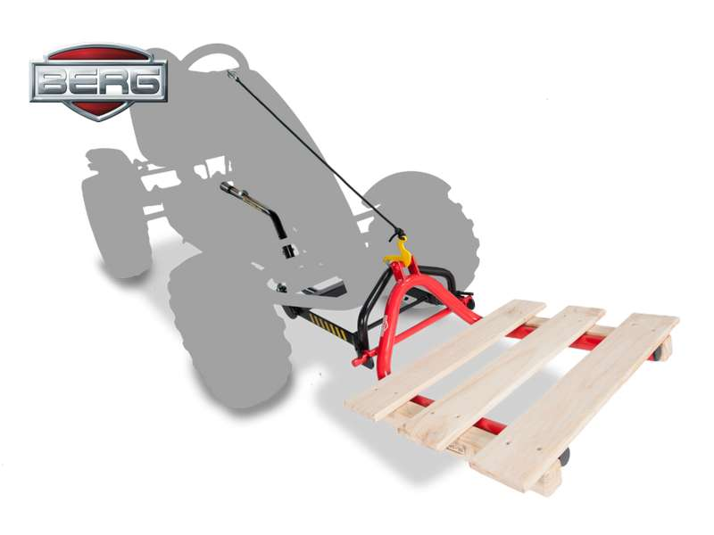 BERG PALLET FORK + Front Or Rear Lifting Unit