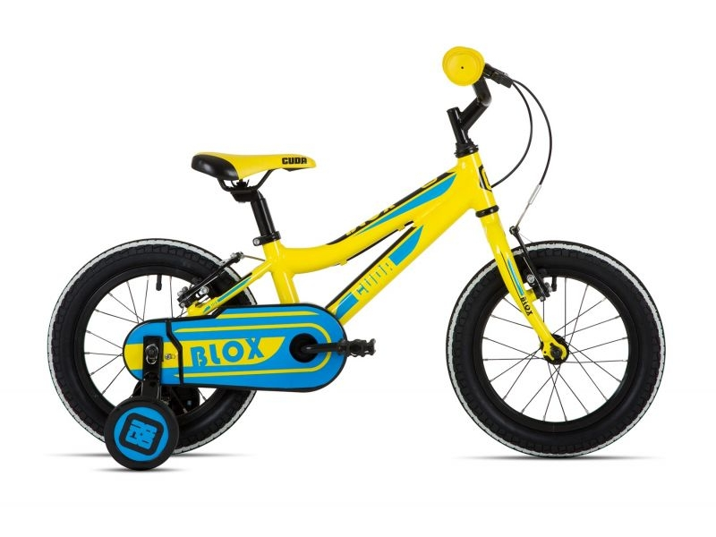 Cuda Blox Pavement Bike – Yellow – 14″