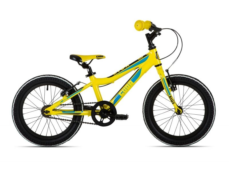 Cuda Blox Pavement Bike – Yellow – 16″