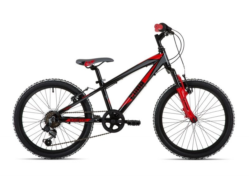 Cuda Kinetic Junior Bike – Black – 20″