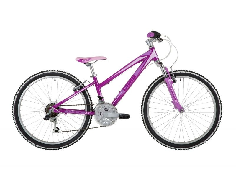 Cuda Kinetic Junior Bike – Purple – 24″