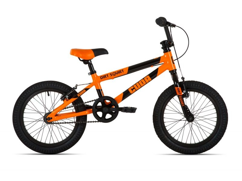 Cuda Dirt Squirt BMX Bike – Orange – 16″
