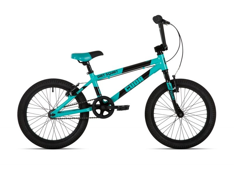 Cuda Dirt Squirt BMX Bike Teal 18″
