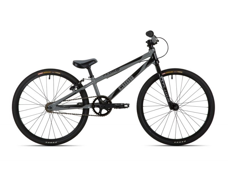 Cuda Fluxus Junior BMX Race Bike 20″ Grey/Black