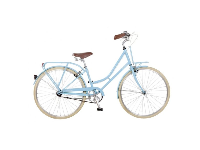19″ Ryedale Holly, 26″ Wheel Ladies Heritage Bike, Bubblegum (RYD03)