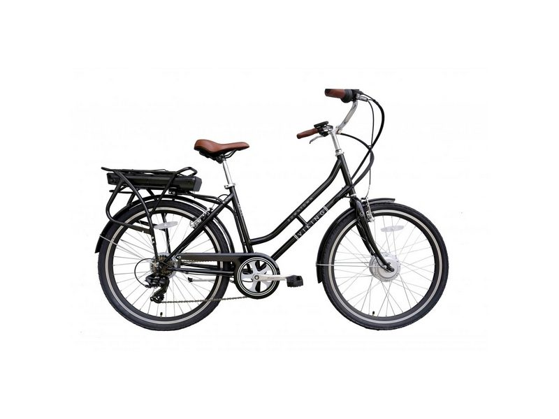 Viking Downtown 36 Black, 26″ 6 Speed E-Bike (VK78)