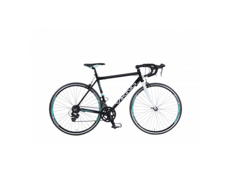 56cm Viking Roubaix 200, Alloy, 14 Speed, 700c Wheel Gents, Black (VN359)