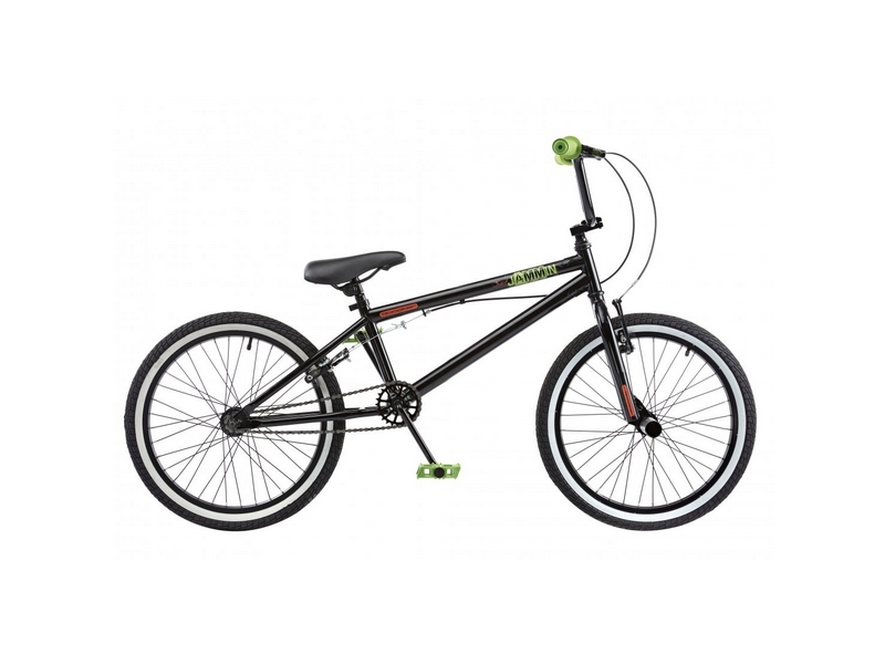 Rooster Jammin Single Speed BMX, 20″ Wheel, Black (RS130)