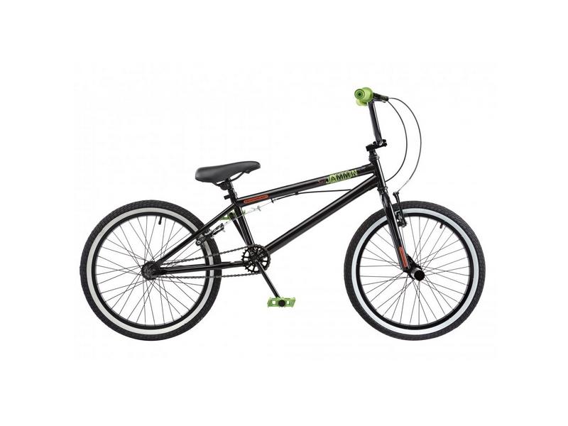 Rooster Jammin Single Speed BMX, 20″ Wheel, Black (RS130)