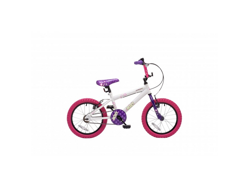 Concept Roxy Girls Single Speed, 16″ Wheel, White (CN126)