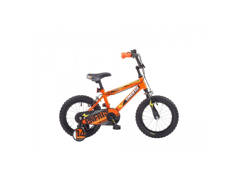 Concept Energy Boys Single Speed, 14″ Wheel, Orange (CN116)