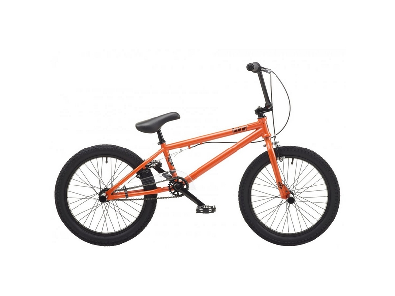 Rooster Hardcore 9.5″ Frame 18″ Wheel Boys BMX Bike Metallic Orange (RS170)
