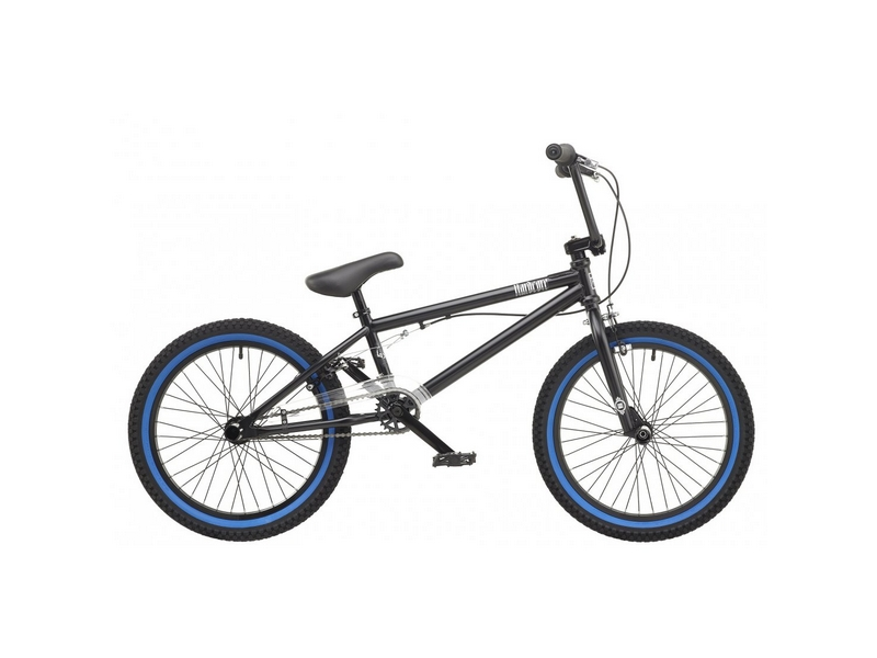 Rooster Hardcore 9.75″ Frame 20″ Wheel Boys BMX Bike Matte Black (RS172)