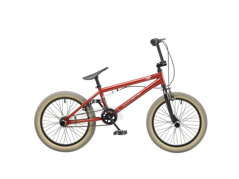 Rooster Core 9.5″ Frame 18″ Wheel Boys BMX Bike Red (RS163)