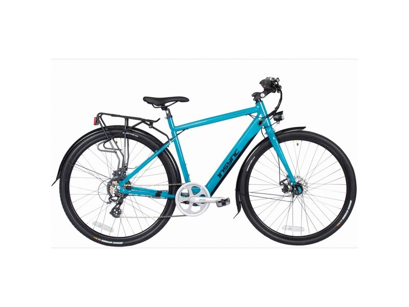Insync Townmaster Medium Gents 36V 250W Aluminium Electric Bike Teal (INS001)