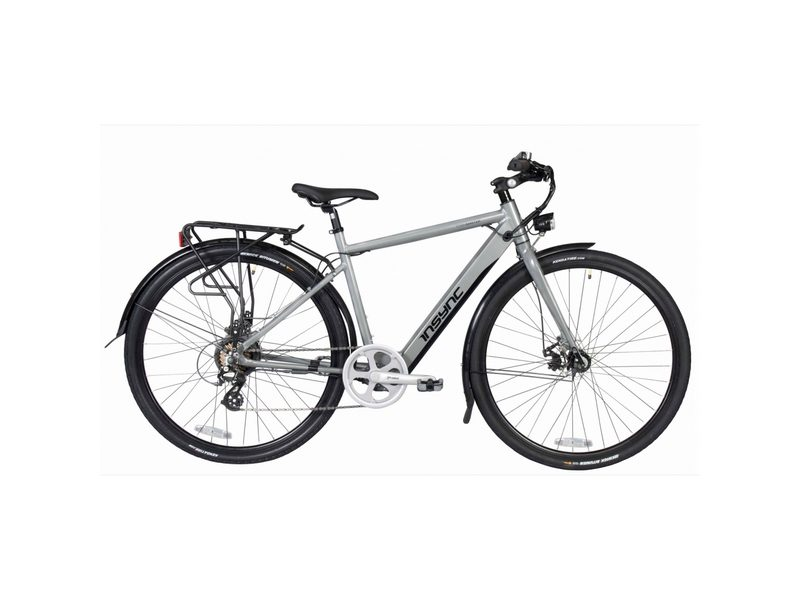 Insync Townmaster 17″ Gents 36V 250W Aluminium Electric Bike Grey (INS003)