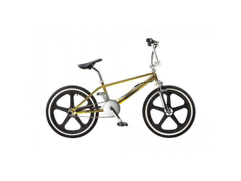 Rooster Unknown Mag 20″ Wheel Boys BMX Bike Chrome Gold (RS178)