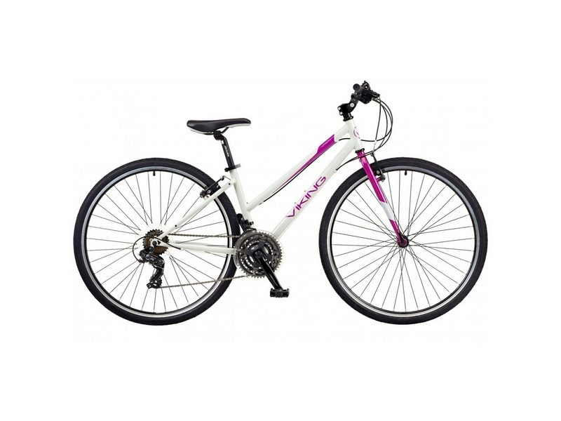 Viking Urban 17″ Ladies Hybrid Bike (VN507)