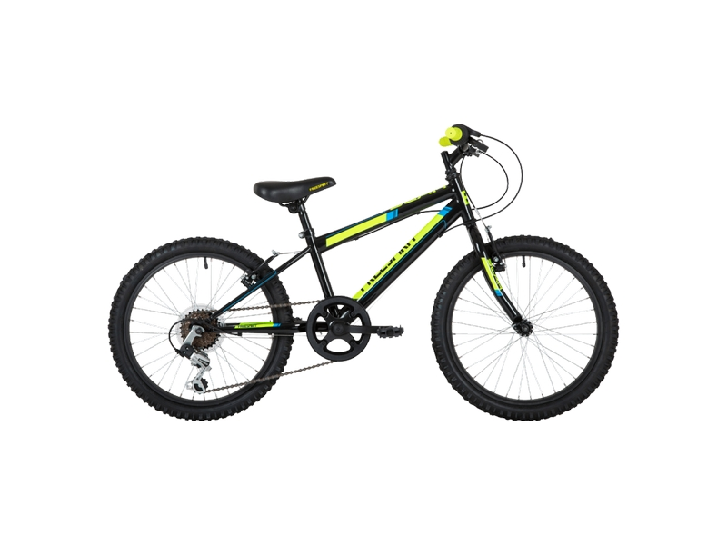 Freespirit Scar Junior Bike Black/Yellow