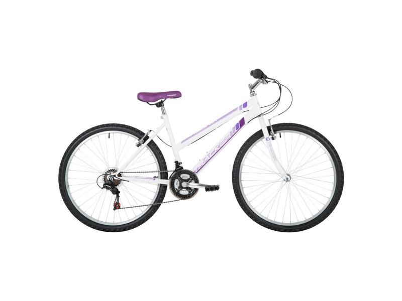 Freespirit Tracker 15″ MTB Bike White/Purple