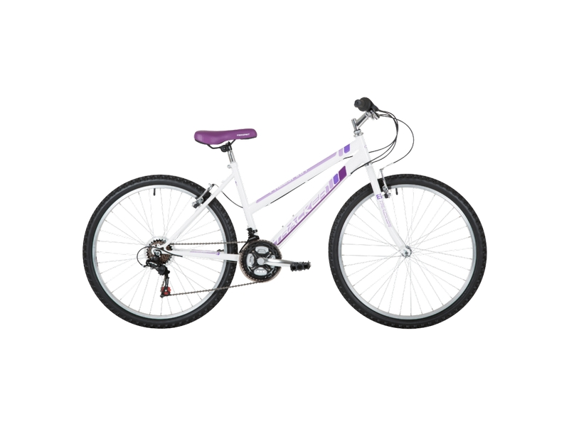 Freespirit Tracker 18″ MTB Bike White/Purple
