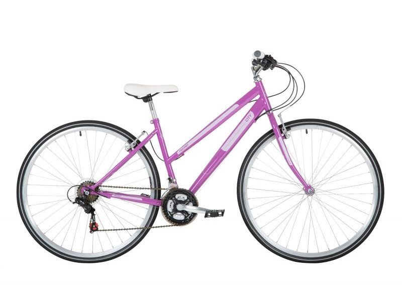 Freespirit City 17″ Urban Bike Purple