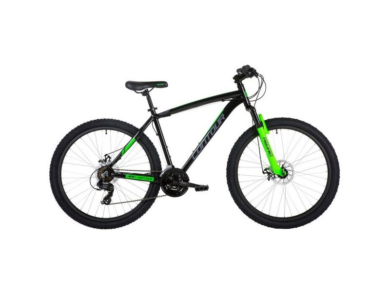 Freespirit Contour Mountain Bike 18″ 27.5″ Black