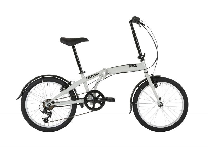 Freespirit Ruck Folding Bike 20″ Grey