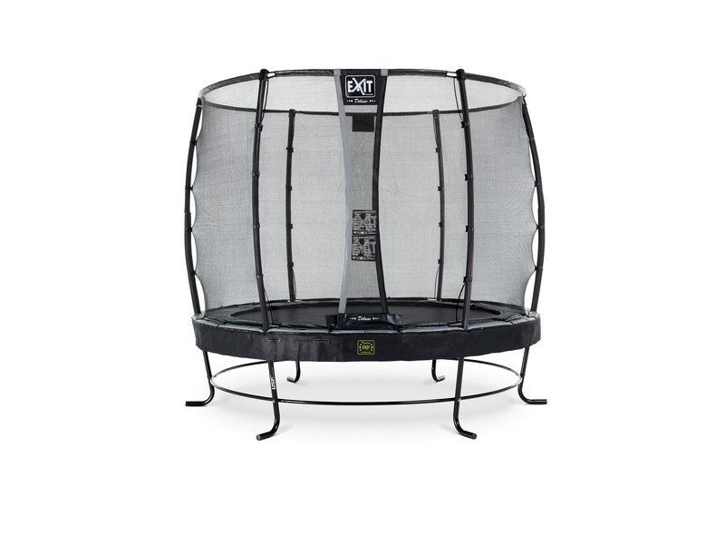 EXIT Elegant Premium Trampoline ø253cm With Deluxe Safety Net