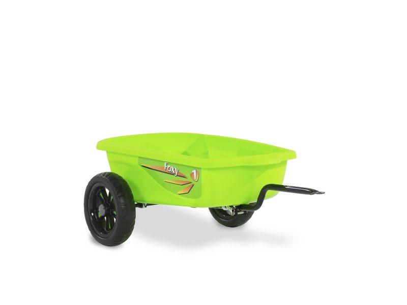 EXIT Foxy Green Pedal Go-kart Trailer – Green