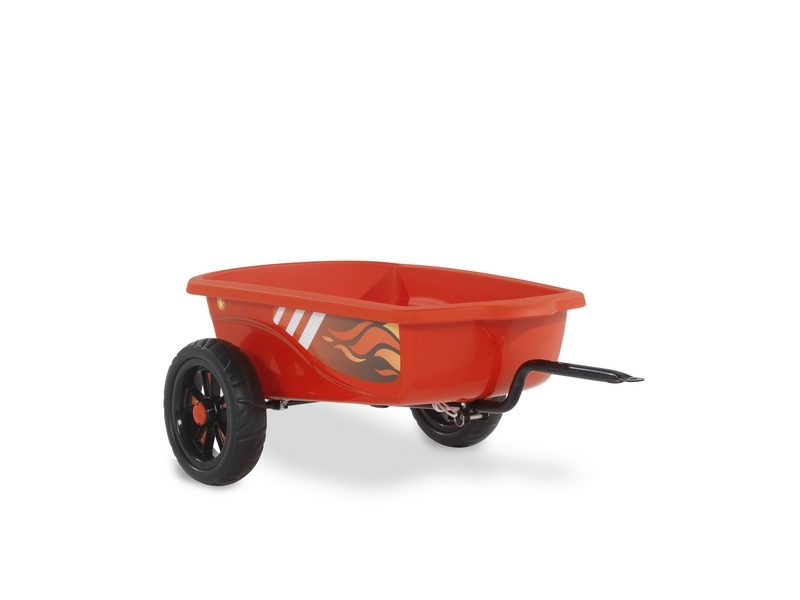 EXIT Foxy Fire Pedal Go-kart Trailer – Red