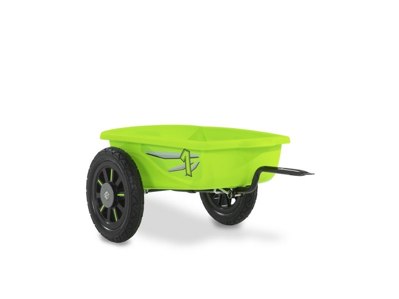 EXIT Spider Green And Cheetah Pedal Go-kart Trailer – Green