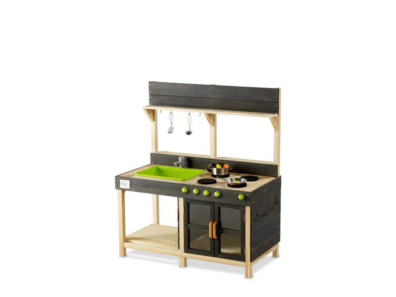 EXIT Yummy 200 Wooden Outdoor Kitchen – Natural