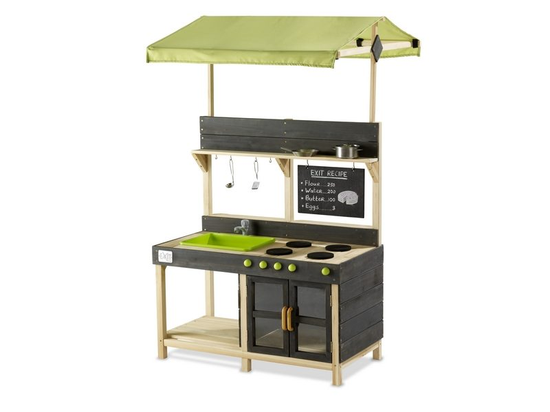 EXIT Yummy 300 Wooden Outdoor Kitchen – Natural
