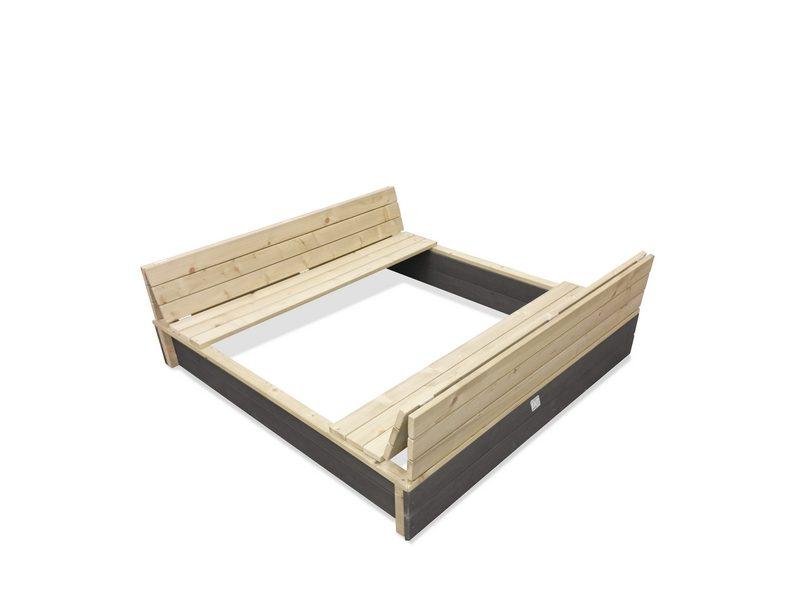 EXIT Aksent Wooden Sandpit 136x132cm