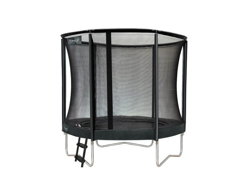 Etan Premium Gold 08ft Trampoline With Enclosure – Grey