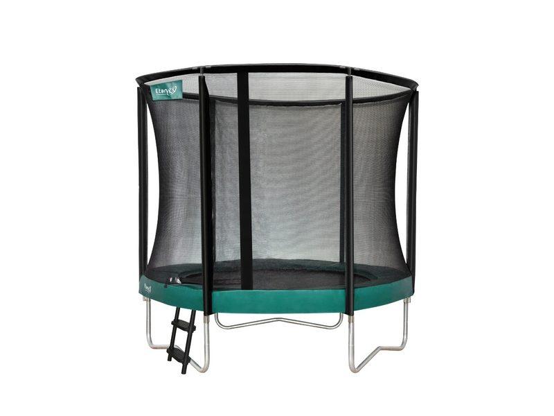 Etan Premium Gold 08ft Trampoline With Enclosure – Green