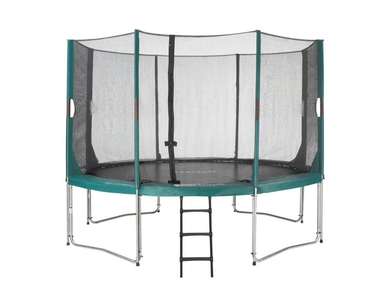 Etan Hi-Flyer Trampoline With Enclosure 427 Cm / 14ft Green