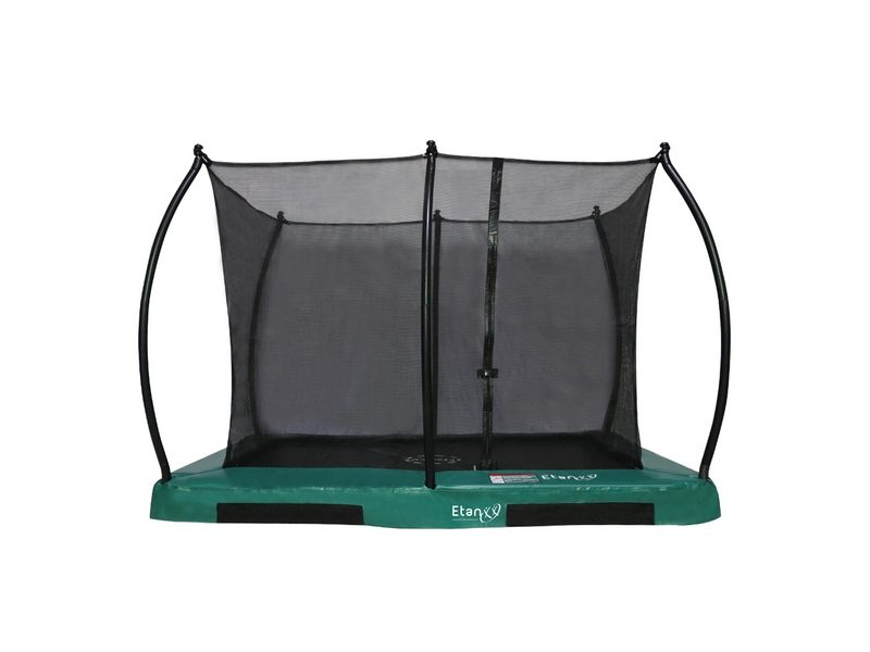 Etan Hi-Flyer Inground Trampoline With Enclosure 281 X 201 Cm / 0965 Green
