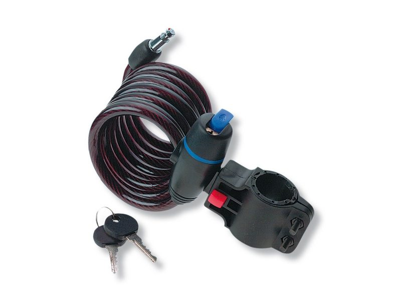 Strong Coil Cable Lock 1360